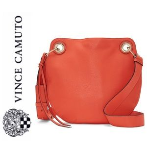NWT Vince Camuto leather shoulder crossbody bag